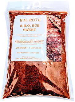 Sweet BBQ Rub (Qty. 12) $4.99 ea.