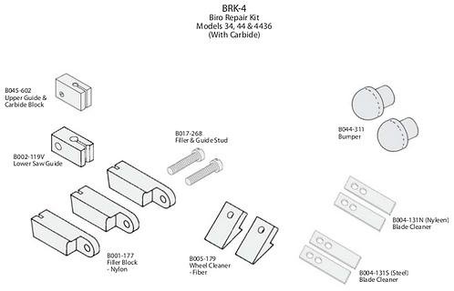 Biro Repair Kit #4