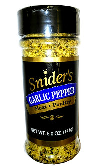 Garlic Pepper 5 oz. Shaker (Qty. 6) $4.39 ea.