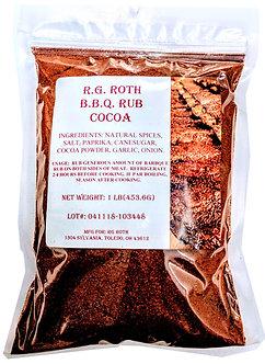 Cocoa BBQ Rub (Qty. 12 ) $5.99 ea.