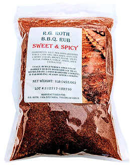 Sweet and Spicy BBQ Rub (Qty. 12) $5.99 ea.