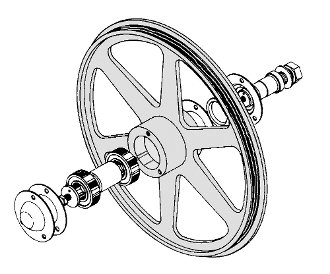 Butcher Boy Upper Wheel Assembly