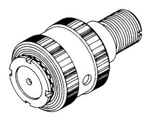 Biro Upper Shaft and Bearing Assembly