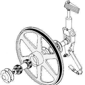 Butcher Boy Upper Wheel Assembly With Hanger