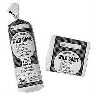 Wild Game 2 lb. Meat bags 50 Ct.