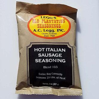 Legg's Blend #103 Hot Italian Sausage (Qty. 6) $4.09 ea.