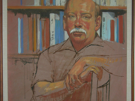 A Life of Collecting Art- A Passion of Painterly Principles- and printed pages.