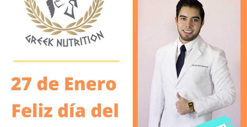 Día del nutriólogo 27 de enero de 2020