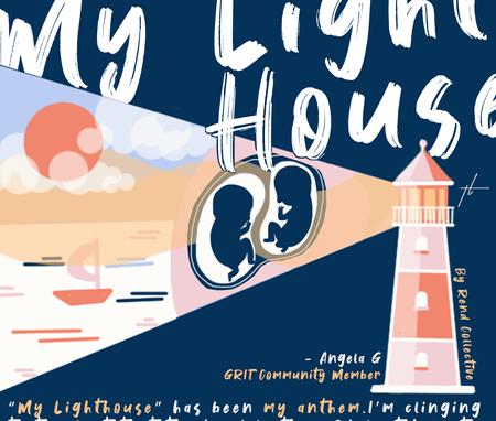 My Lighthouse Illustration by Thecla Li