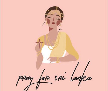 Sri Lanka Bombing Tribute Graphic by Thecla Li // CHIMES Newspaper