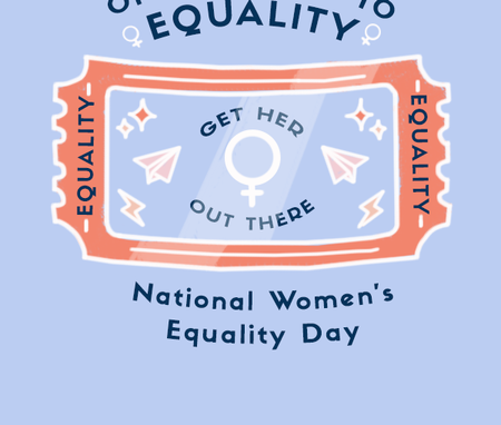 Intertional Women's Equality Day Graphic