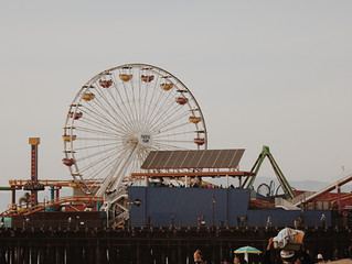 MLK Jr. Day at Santa Monica Pier