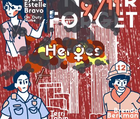 911 Women Illustration by Thecla Li __ G