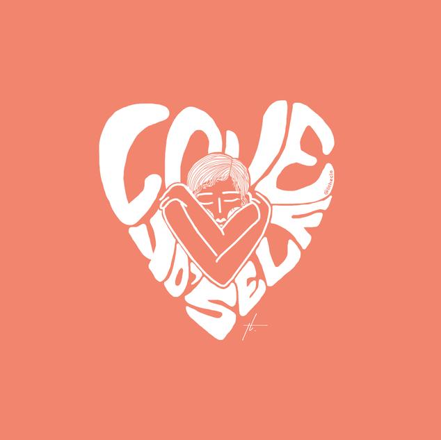 Love Yo'self Illustration by Thecla Li // GRIT BIOLA