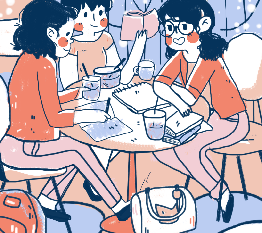 GRIT Meeting Illustration by Thecla Li _