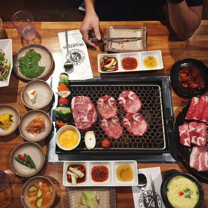 The fashionable Korean BBQ for young people.