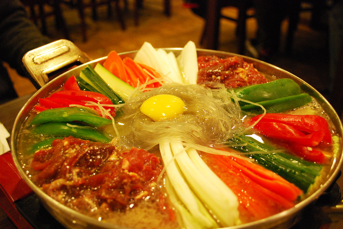 Hot Pot - Popular, Tradition Cuisine in China.
