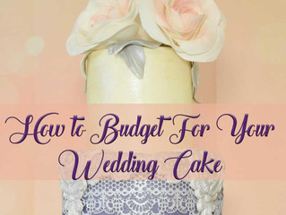 How to Budget for a Wedding Cake