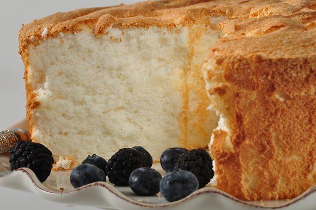 Angel Food Cake. Photo courtesy of JoyOfBaking.com.