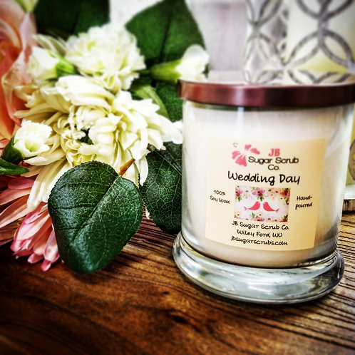 Wedding Day Soy Wax Candle
