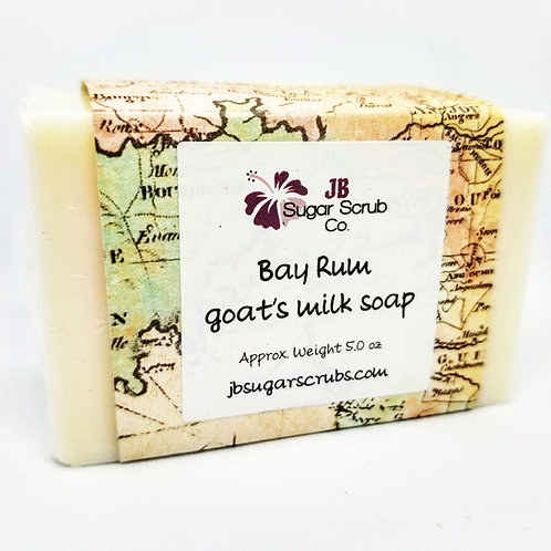 Bay Rum Goat's Milk Soap