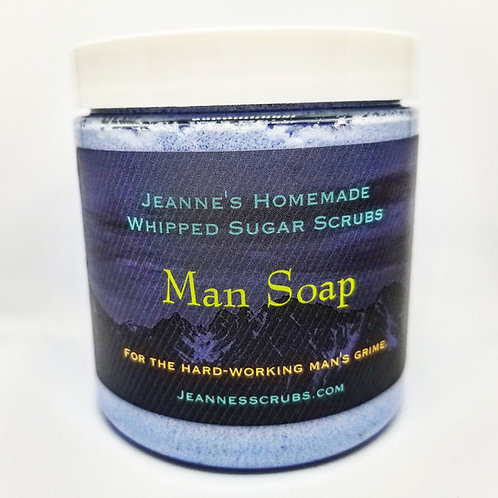Man Soap Foaming Sugar Scrub