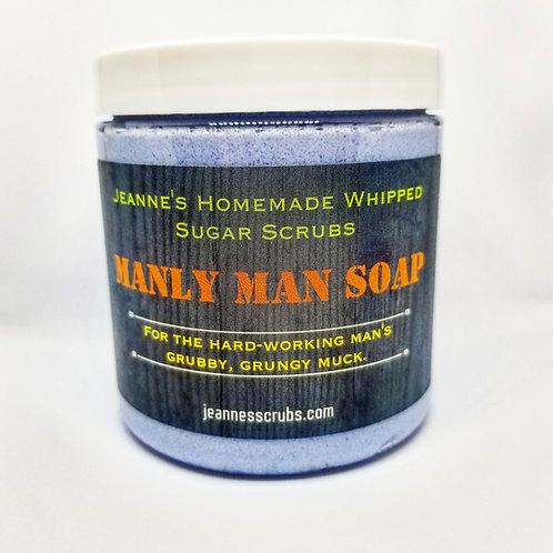 Manly Man Foaming Sugar Scrub