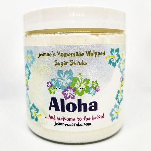 Aloha Foaming Sugar Scrub