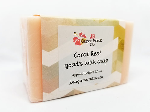 Coral Reef Goat's Milk Soap