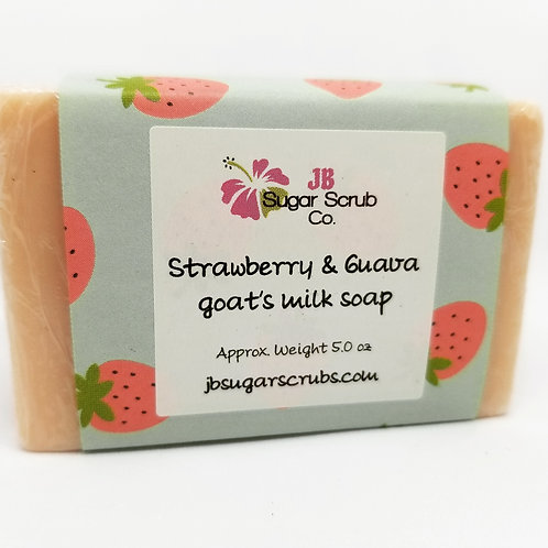 Strawberry Guava Goat's Milk Soap