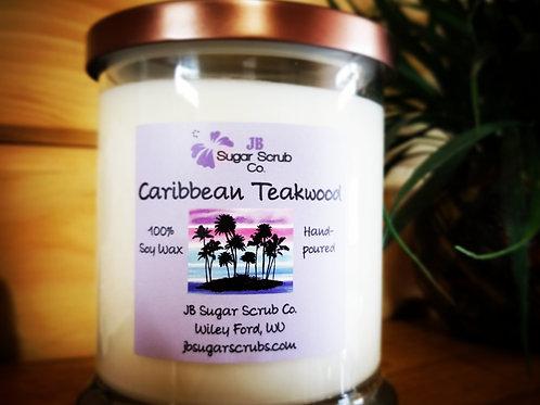 Caribbean Teakwood Soy Wax Candle