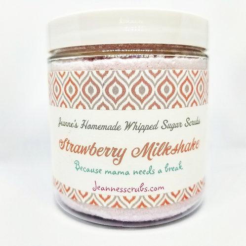 Strawberry Milkshake Foaming Sugar Scrub