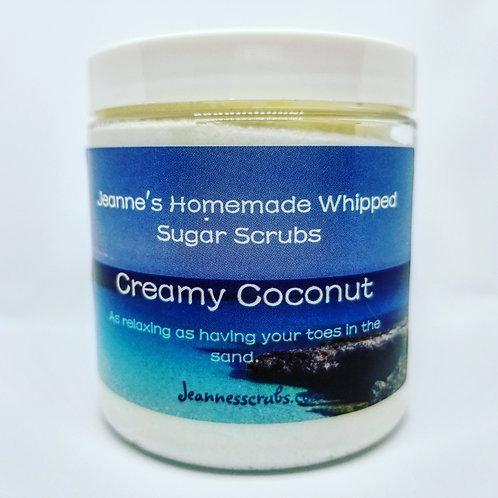 Creamy Coconut Foaming Sugar Scrub