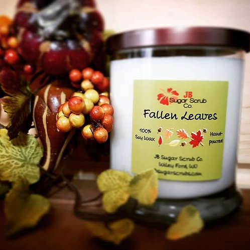 Fallen Leaves Soy Wax Candle