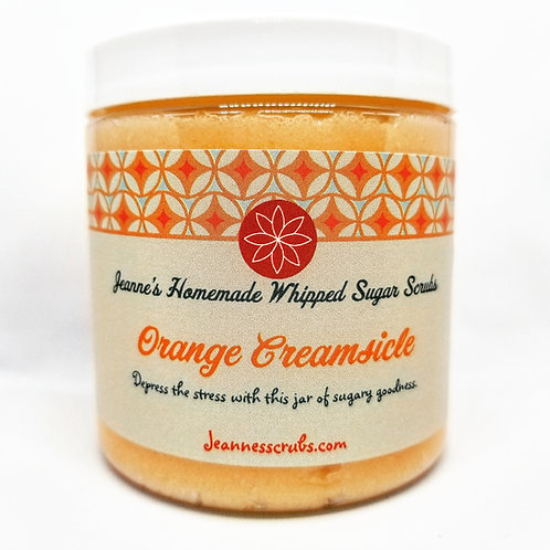 Orange Creamsicle Foaming Sugar Scrub