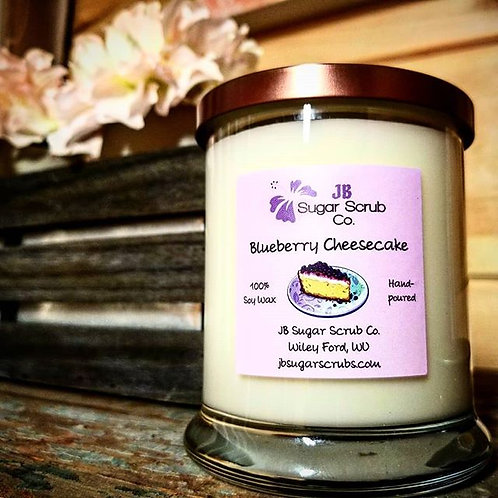 Blueberry Cheesecake Soy Wax Candle