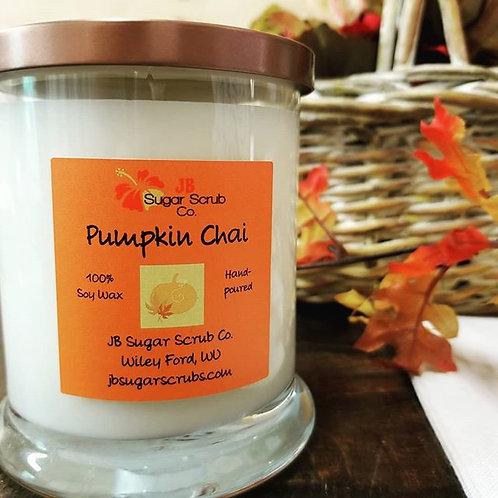 Pumpkin Chai Soy Wax Candle