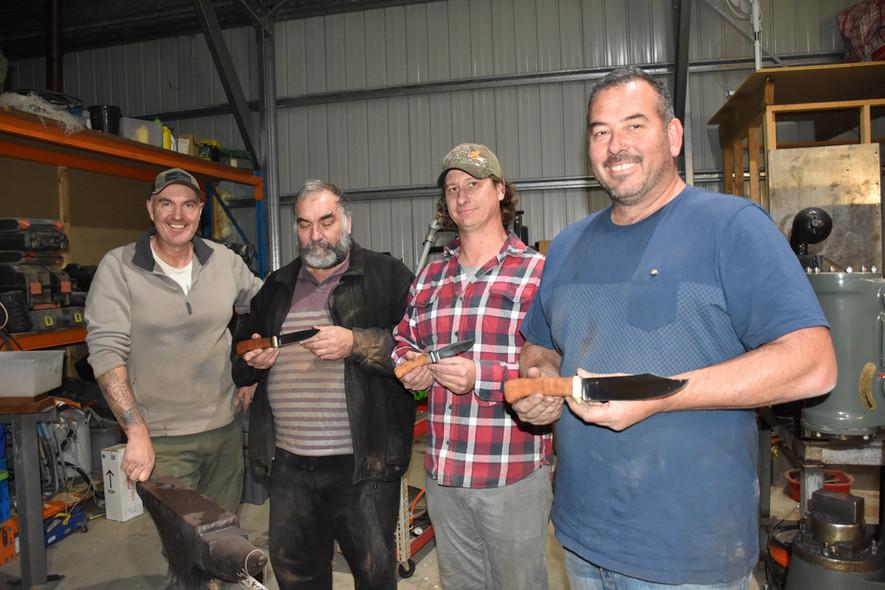 Dean, Doug, Bottsy, and Copes
