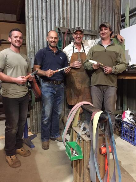 New mates, making great knives