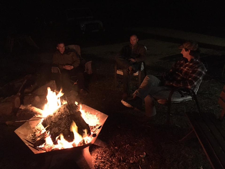 Easy nights around the fire