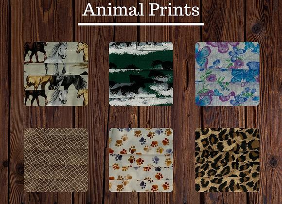 Fabric Mask - Animal Print
