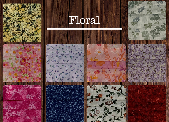 Fabric Mask-Floral