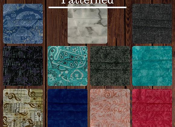 Fabric Mask -Patterned