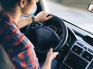Man Kørsel i bil