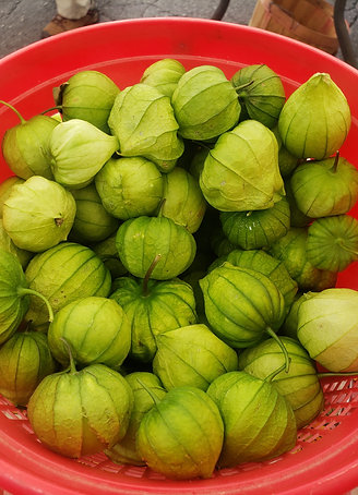 4 fresh Tomatillos