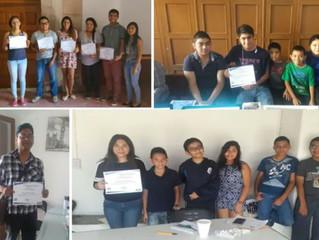Entrega de Reconocimientos a los chicos talento, Queretaro, San Luis, Rioverde, Lagos
