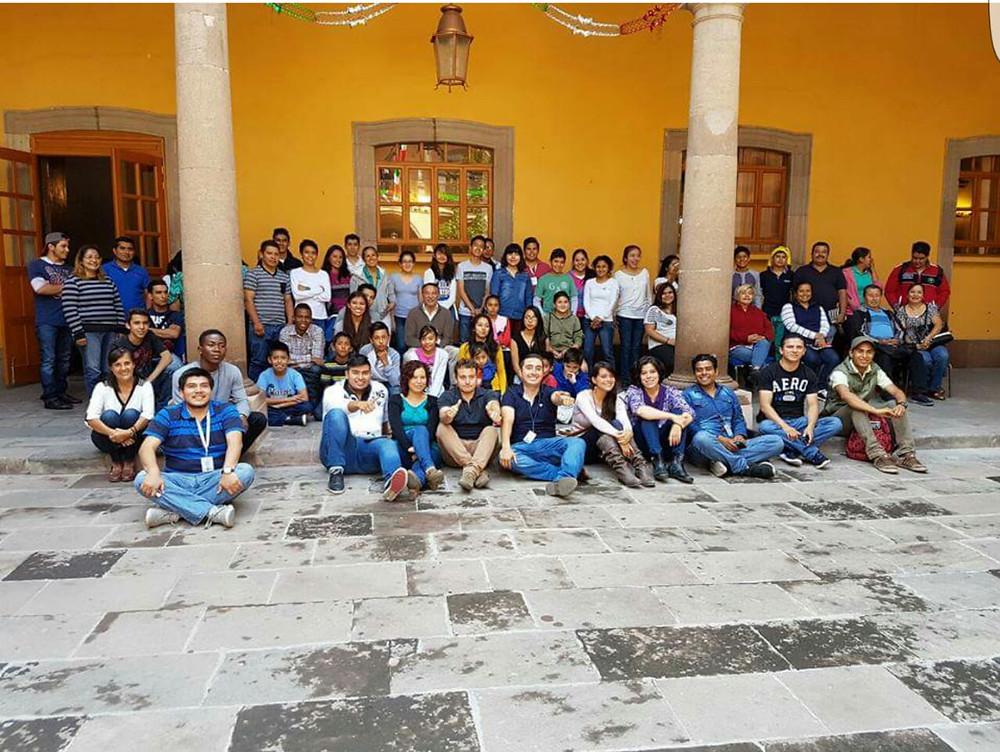 Terminando el curso de Neuro-liderazgo en San Luis Potosi, felicidades a todos los jovenes universitarios participantes!.