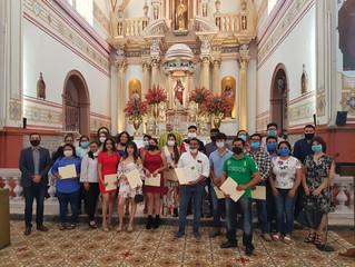 Entrega de certificados Rio Verde