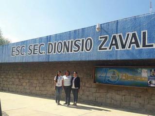 Ciclo de trabajo concluido en la Escuela Dionision Zavala, excelente trabajo de nuestro equipo de ps