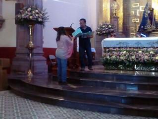 Entrega de reconocimientos y certificados en San Luis Potosí, Rioverde y Querétaro.
